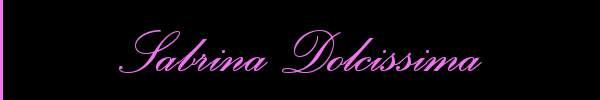 Sabrina Dolcissima  Chiavari Girl 3881236393 Sito Personale