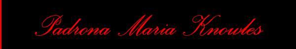 Padrona Maria Knowles  Genova Mistress Trans 3479667071 Sito Personale Class