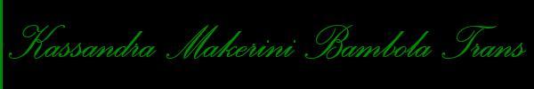 Kassandra Makerini Bambola Trans  Bari Trans 3662665813 Sito Personale Class