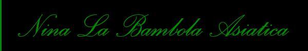3533319634 Vieni a vedere le foto del sito personale di Nina La Bambola Asiatica su toptransclass.it