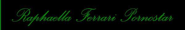 3806957370 Vieni a vedere le foto del sito personale di Raphaella Ferrari Pornostar su toptransclass.it