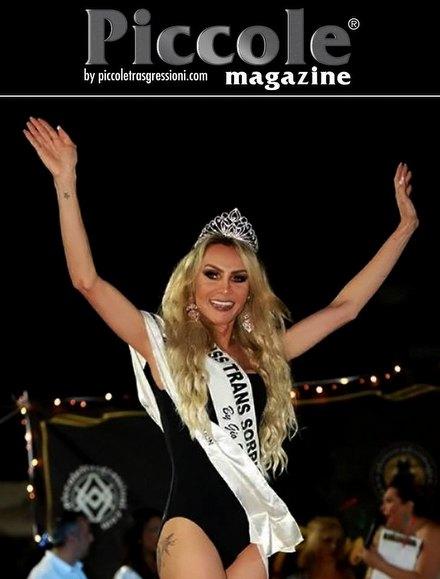 Intervista trans - Chrystal Medeiros, Miss Trans Abruzzo 2018 sez. SudAmerica