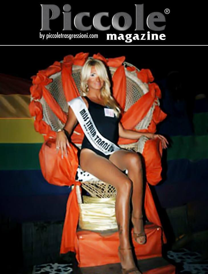 Miss Giada Broda ospite a Miss Trans Italia e SudAmerica 2018