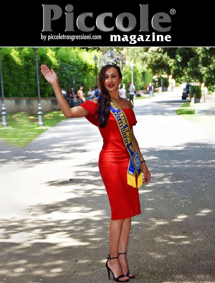 A tu per tu con Fabiana Alves, Miss Trans Europa 2017