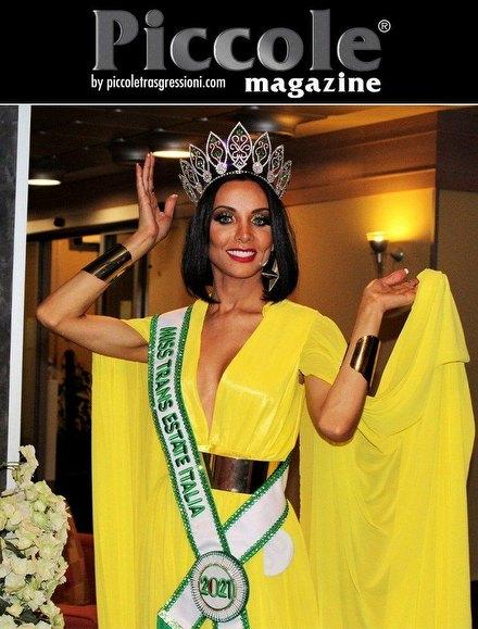 Intervista Intervista a Cleo Machado, vincitrice di Miss Trans Estate 2021: 'L'inizio di un sogno'