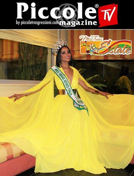 Video Intervista Video intervista a Cleo Machado, vincitrice di Miss Trans Estate 2021: 'L'inizio di un sogno'