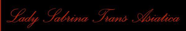 Lady Sabrina Trans Asiatica  Verona Mistress Trans 3427717630 Sito Personale Class