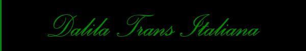 Foto del sito personale di Dalila Trans Italiana  Trans Porto Sant'Elpidio