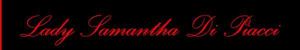 Samantha Di Piacci  Milano Mistress Trans 3335025008 Sito Personale Class