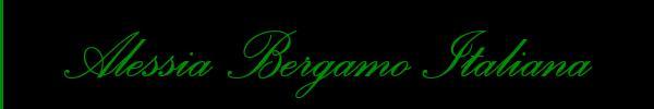 Alessia Bergamo Italiana  Bergamo Trans 3389413009 Sito Personale Class