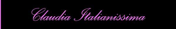 Claudia Italianissima  Valmontone Girl 3455999575 Sito Personale Class