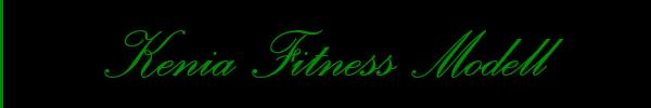 Kenia Fitness Modell