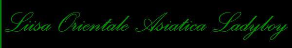 Liisa Ladyboy Asiatica