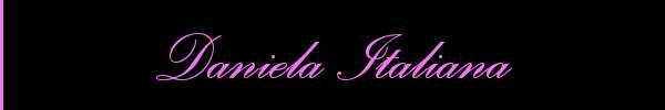 Daniela Italiana  Bergamo Girl 3510461825 Sito Personale Class
