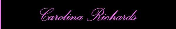 Foto del sito personale di Carolina Richards  Girl Padova