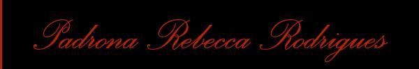 Padrona Rebecca Rodrigues Prato Mistress Trav 3479661711 Sito Personale Top